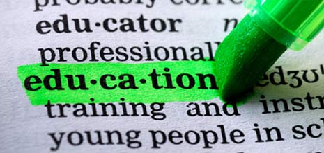 Education Dictionary Highlight